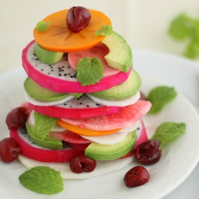 Dragon Fruit Salad