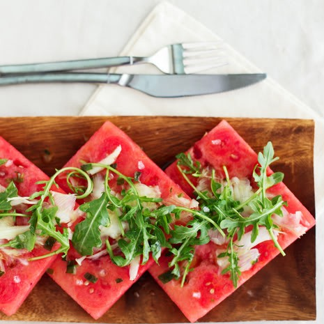 Tipsy Watermelon Salad and Summer Cooking