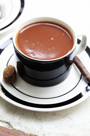Spiced Hot Chocolate and a Cookbook of Our Own
