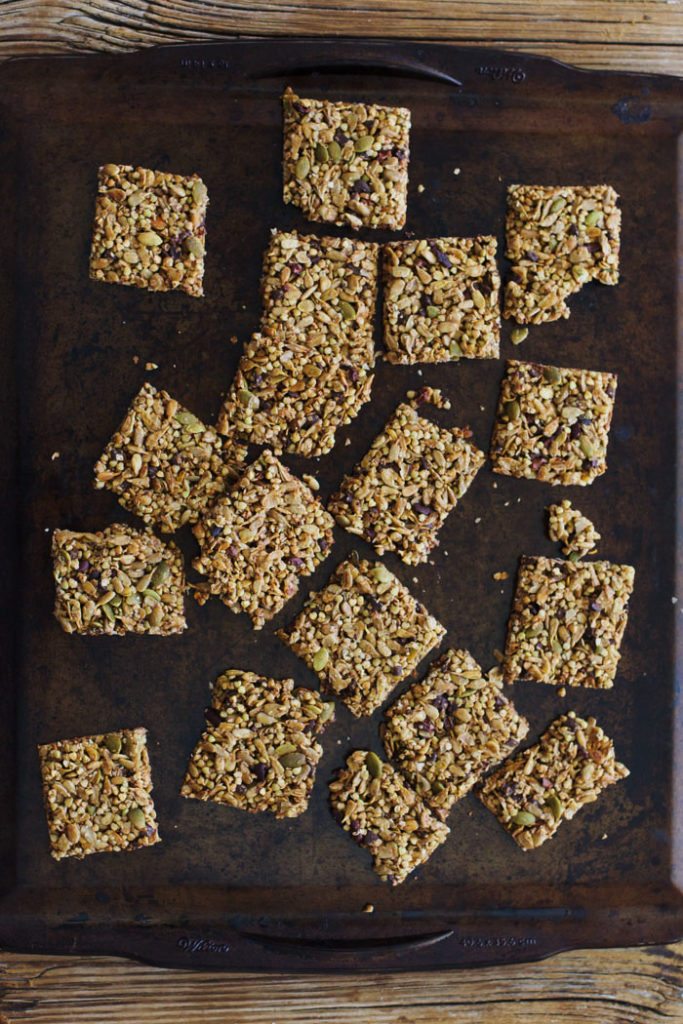 Sprouted Sunflower Seed Cocoa Bars