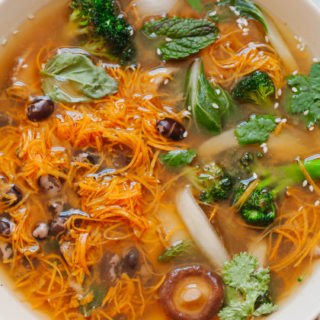 Vegetarian Pho - Golubka Kitchen2