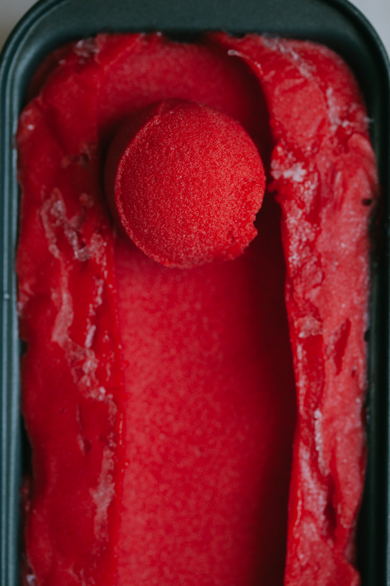 Strawberry Basil Sorbet Recipe — Dishmaps