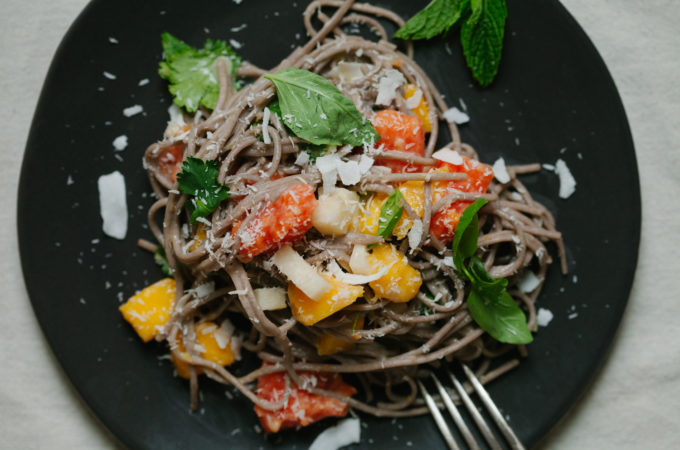 Tropical Soba | Golubka Kitchen
