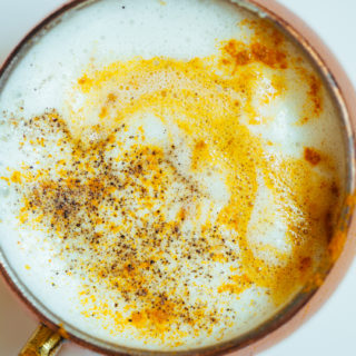 Honey Miso Latte | Golubka Kitchen