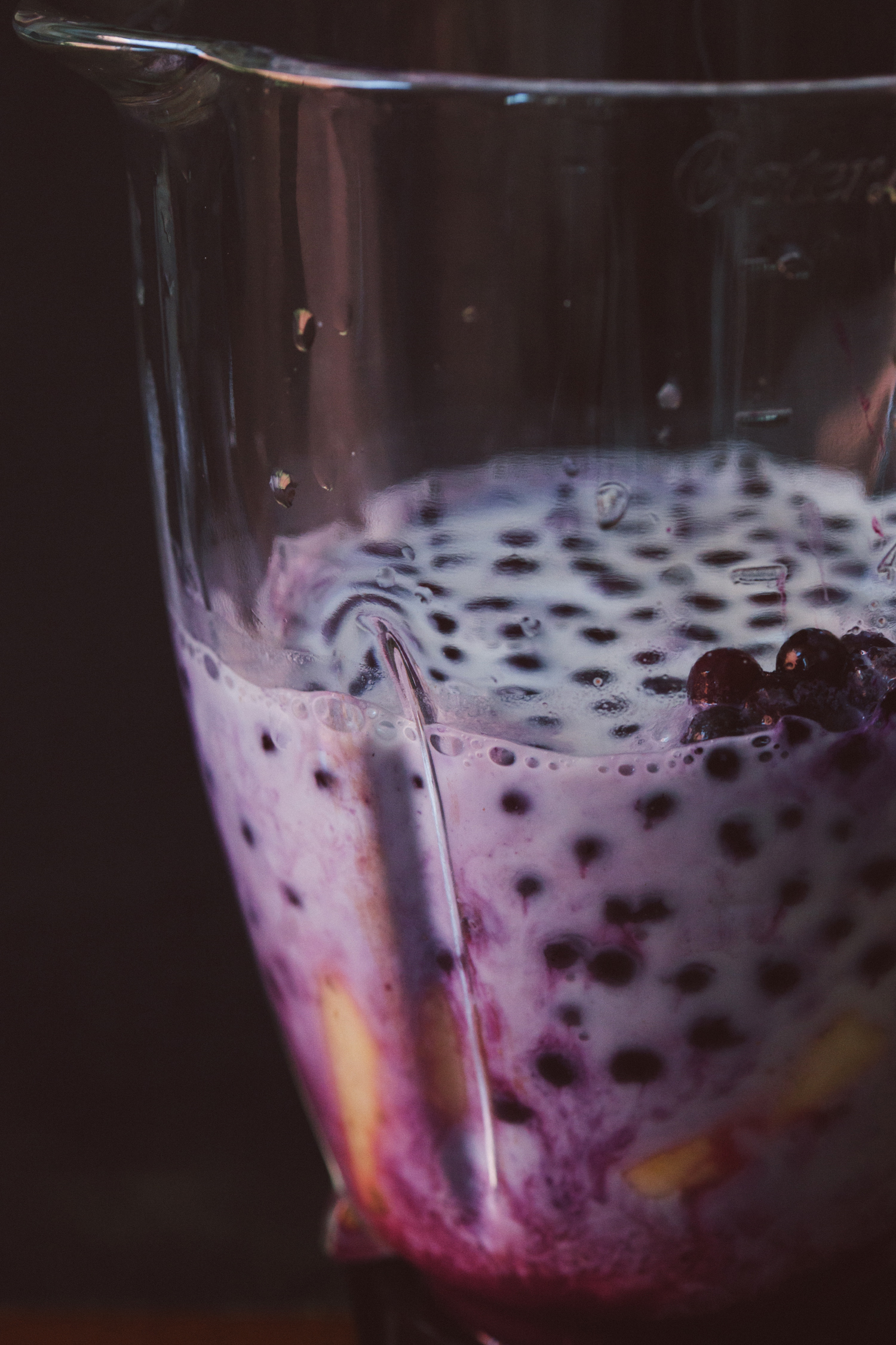 Blueberry, Chia and Ginger Post-Workout Smoothie | Golubka Kitchen