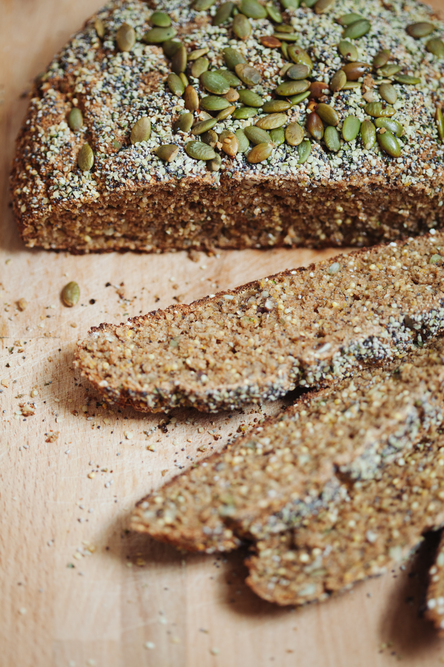 Spiced and Seeded Multigrain Loaf | Golubka Kitchen