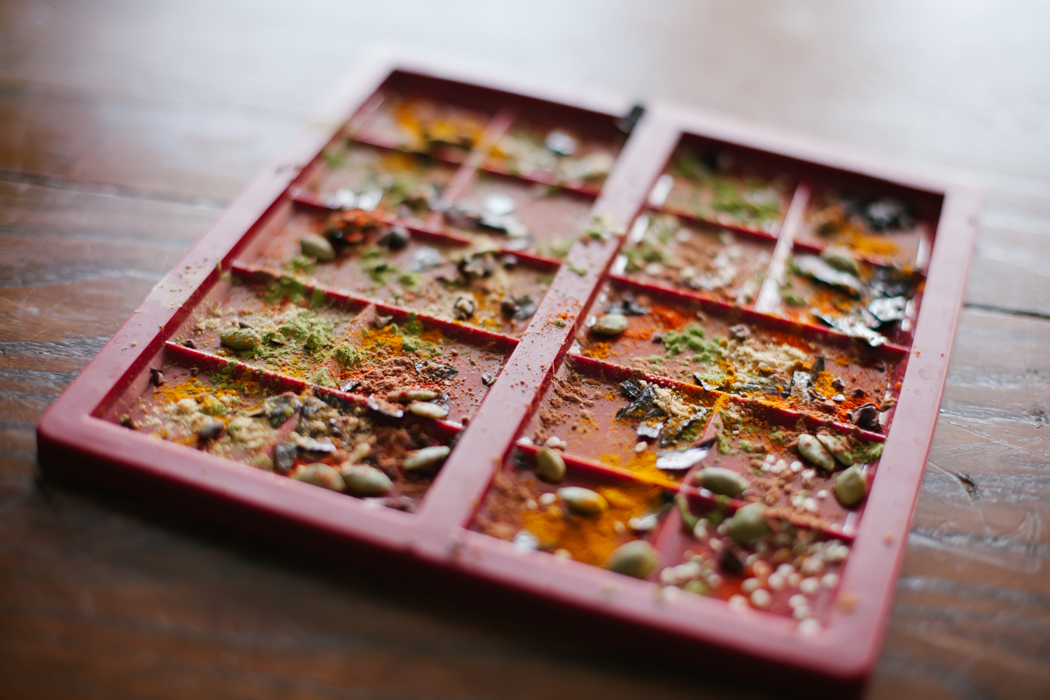 Almost Savory Raw Chocolate - Golubka Kitchen