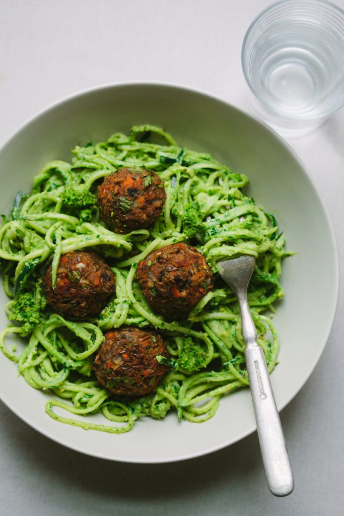 Italian-Style Lentil and Mushroom (Not)Meatballs from Pantry to Plate