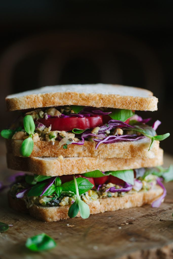 Summery White Bean 'Tuna' Sandwich