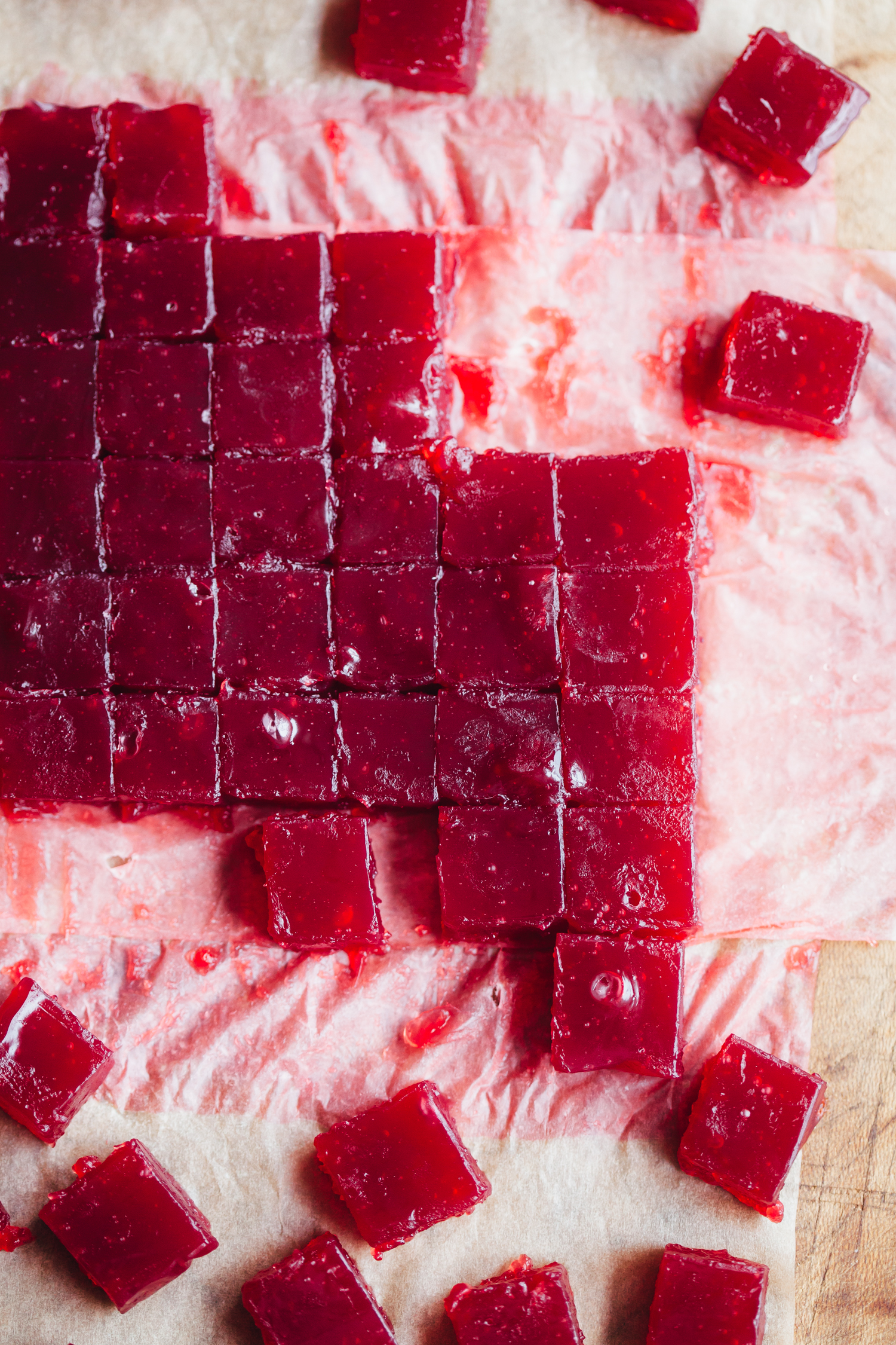 Hibiscus Orange Blossom Turkish Delight - Golubka Kitchen