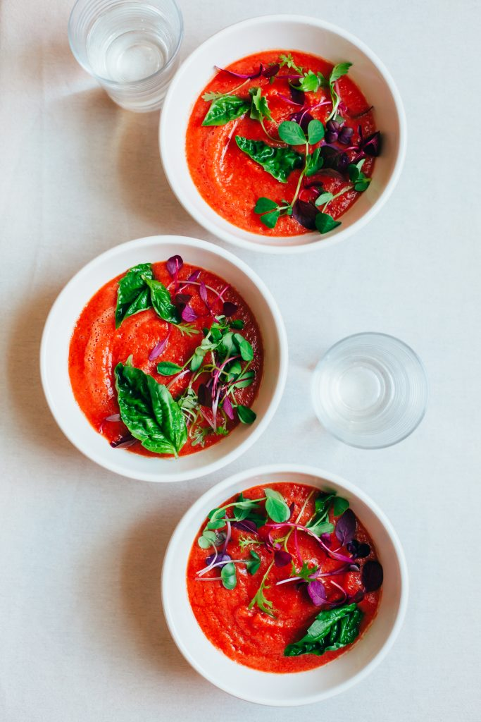 Red Lentil Gazpacho