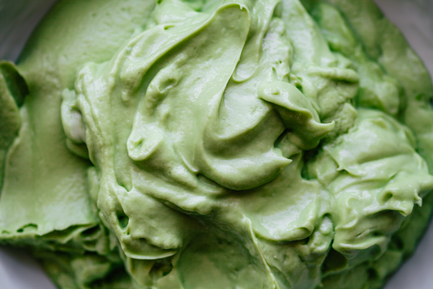 Avocado Soft Serve - Golubka Kitchen