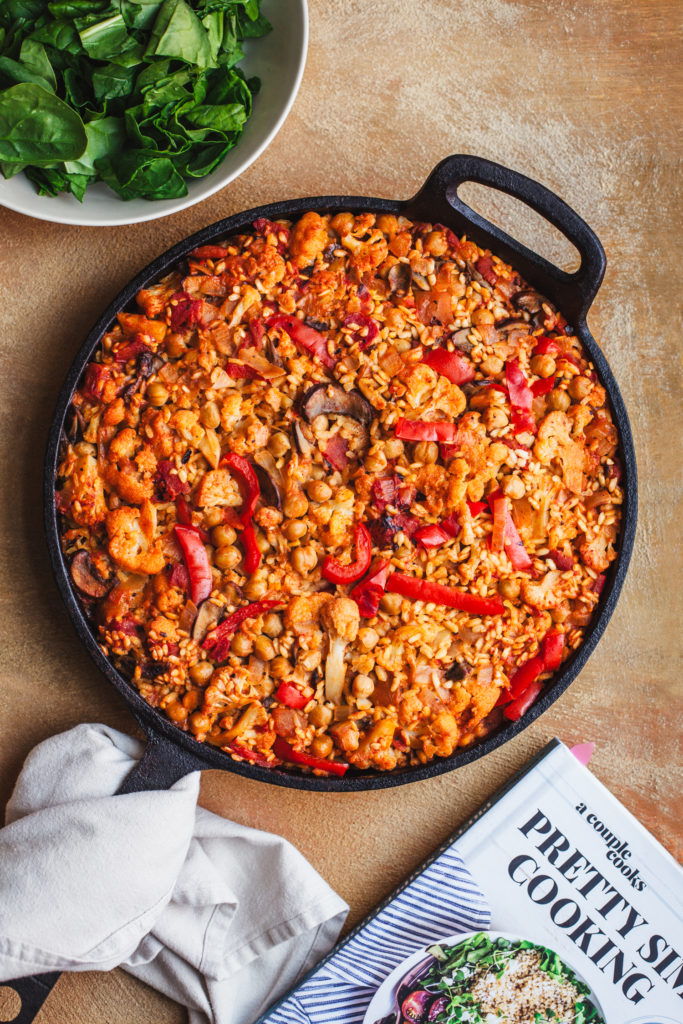 Veggie Supreme Paella From Pretty Simple Cooking