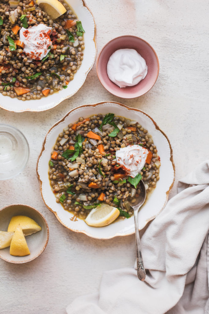 The Simplest Lentil Soup from Abruzzo