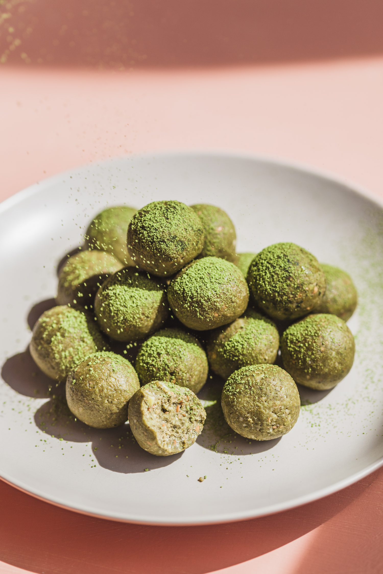 Matcha Butter Balls - Golubka Kitchen