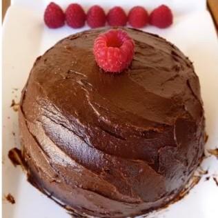 Raw Raspberry Chocolate Ganache
