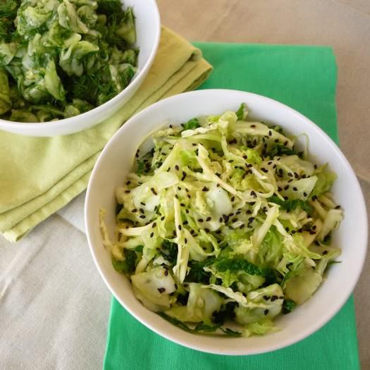 Cucumber Salad, Two Ways