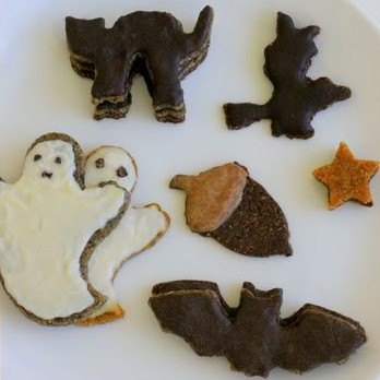 Raw Halloween Cookies