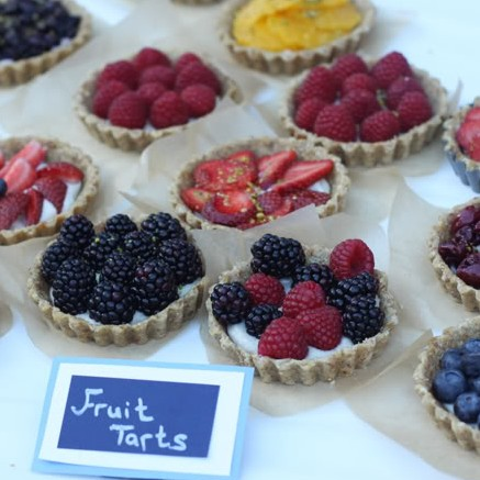 Raw Fruit Tarts