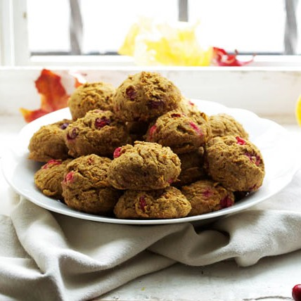 Butternut Squash and Cranberry Cookies