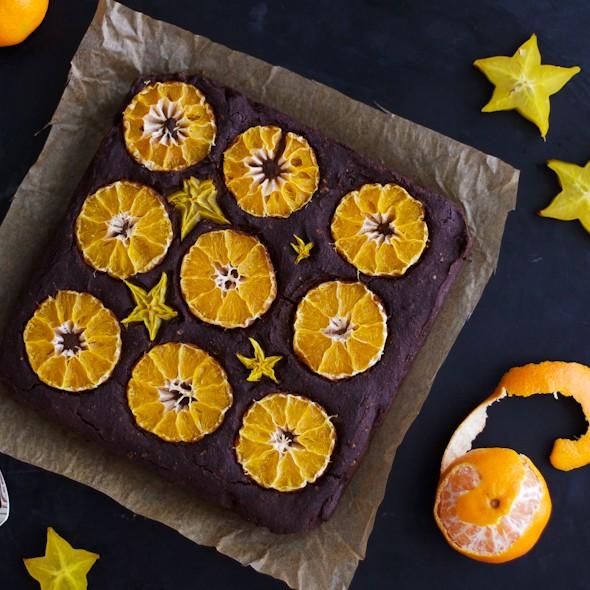 Clementine Fudge Cake