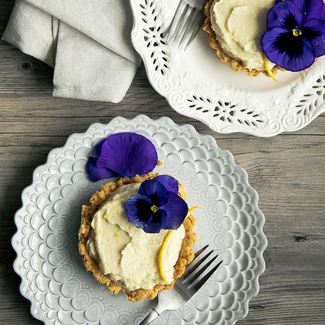 Lemon Tarts from Laura at The First Mess