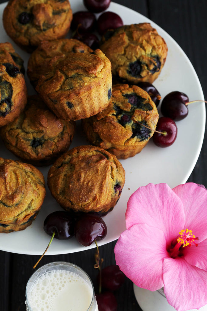 Turnip Blueberry Muffins