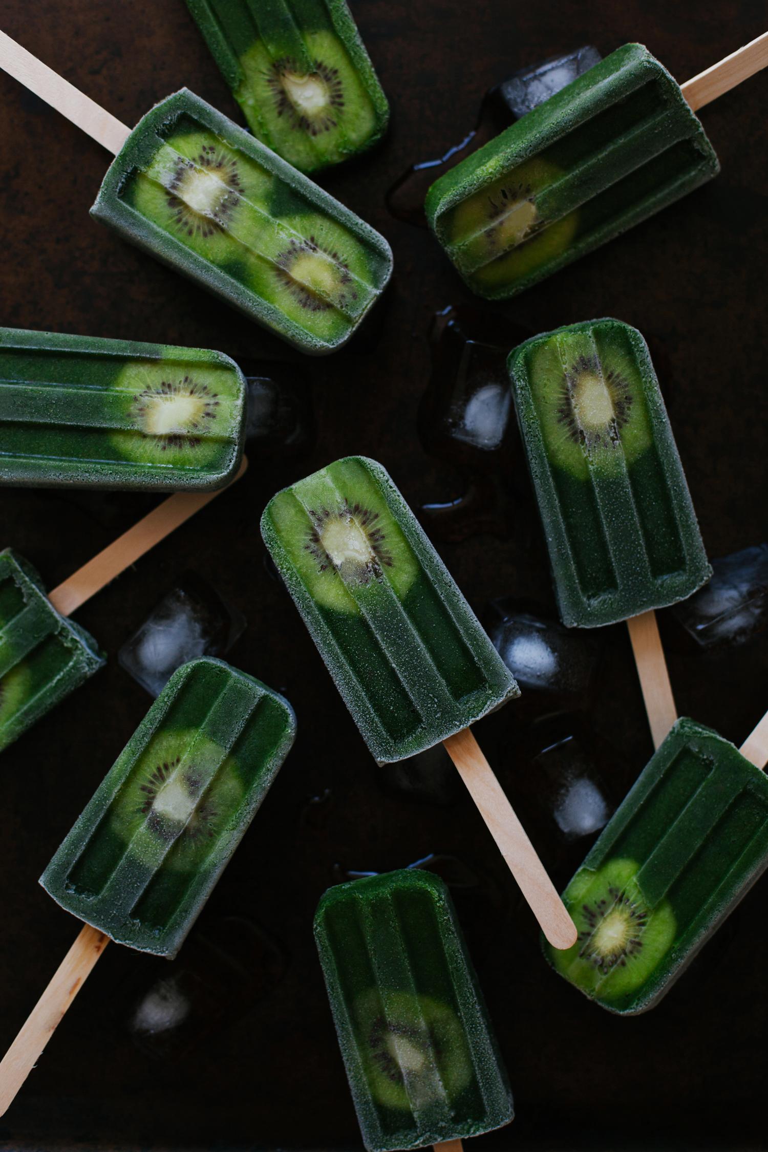 Green Smoothie Pops | Golubka Kitchen