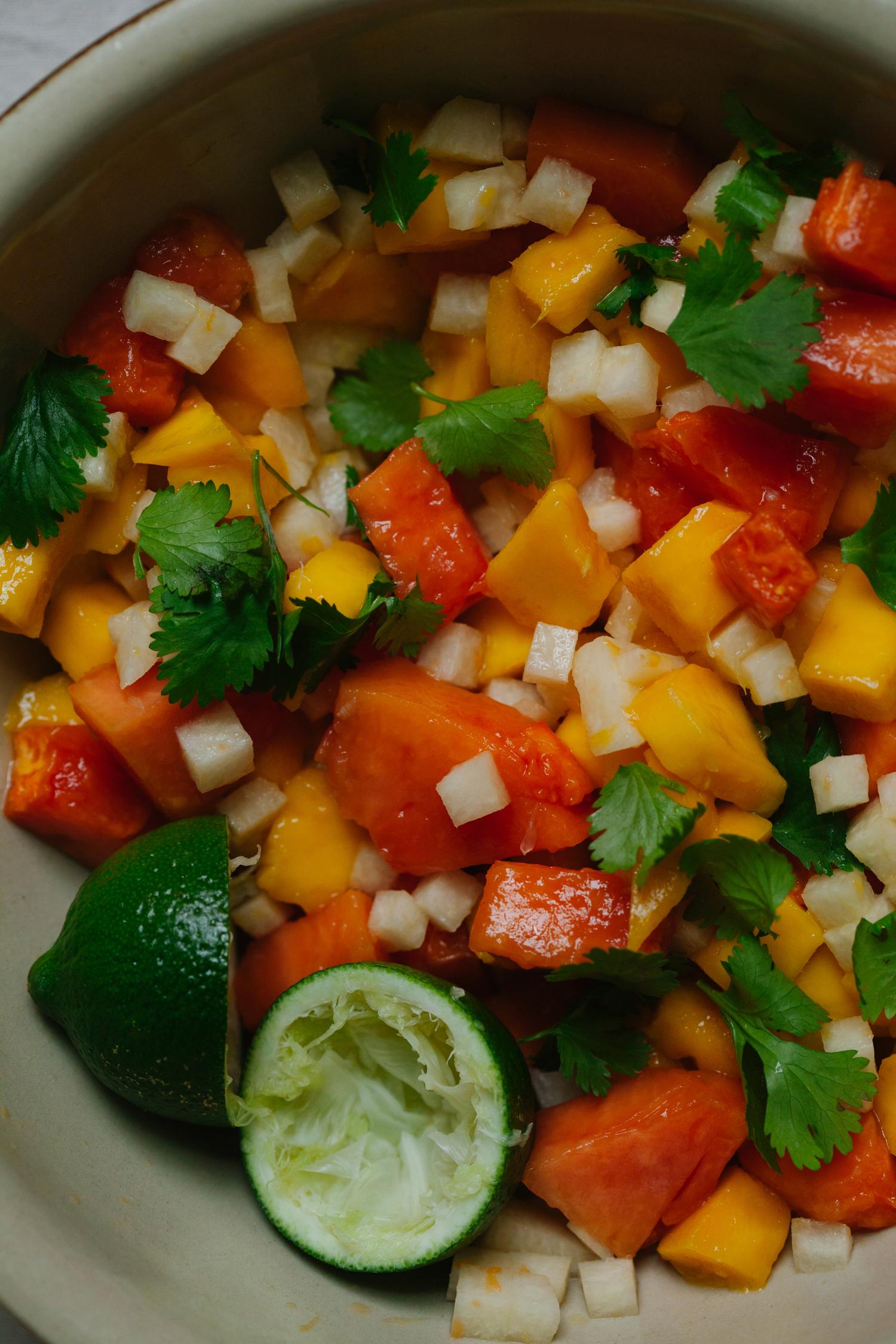 Tropical Soba | Golubka Kitchen