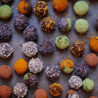 Cosmic Sweet Potato Truffles | Golubka Kitchen