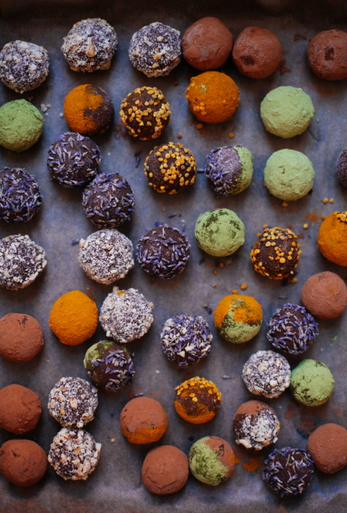 Cosmic Sweet Potato Chocolate Truffles