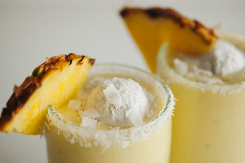 Piña Colada Milkshake | Golubka Kitchen