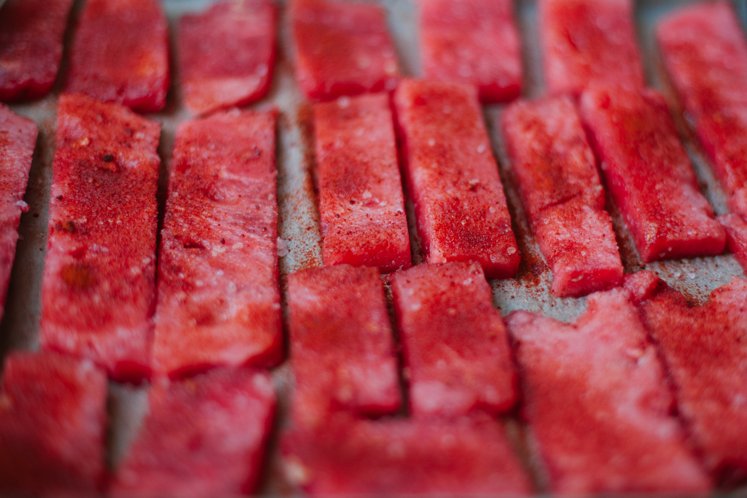 Watermelon Bacon | Golubka Kitchen