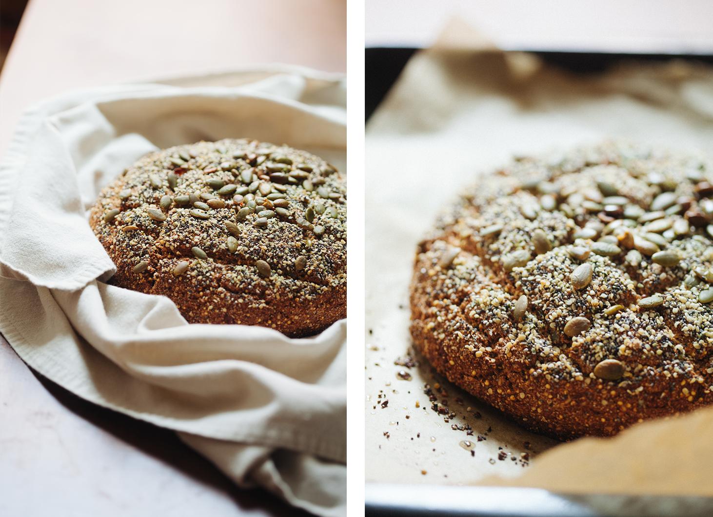Spiced and Seeded Multigrain Loaf | Golubka Kitchen