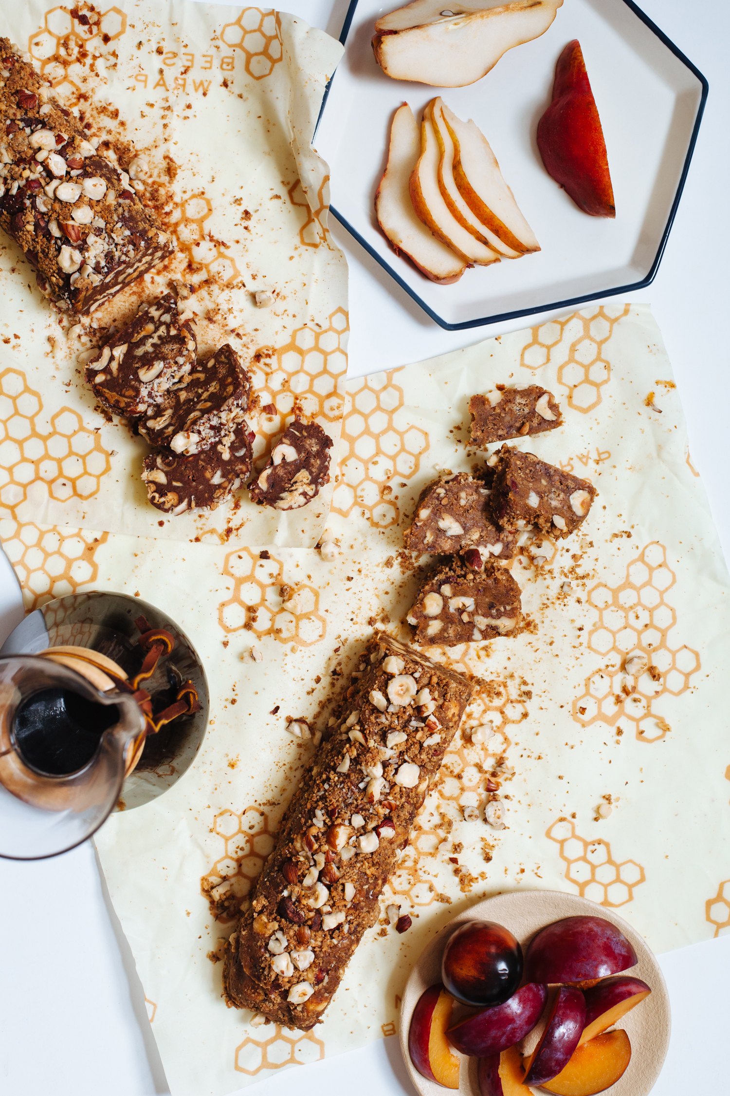 Vegan Sweet Potato Caramel Nougat | Golubka Kitchen