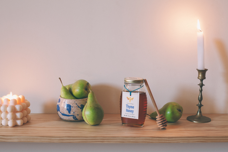 Honey-Roasted Pears with Vanilla Cashew Cream | Golubka Kitchen