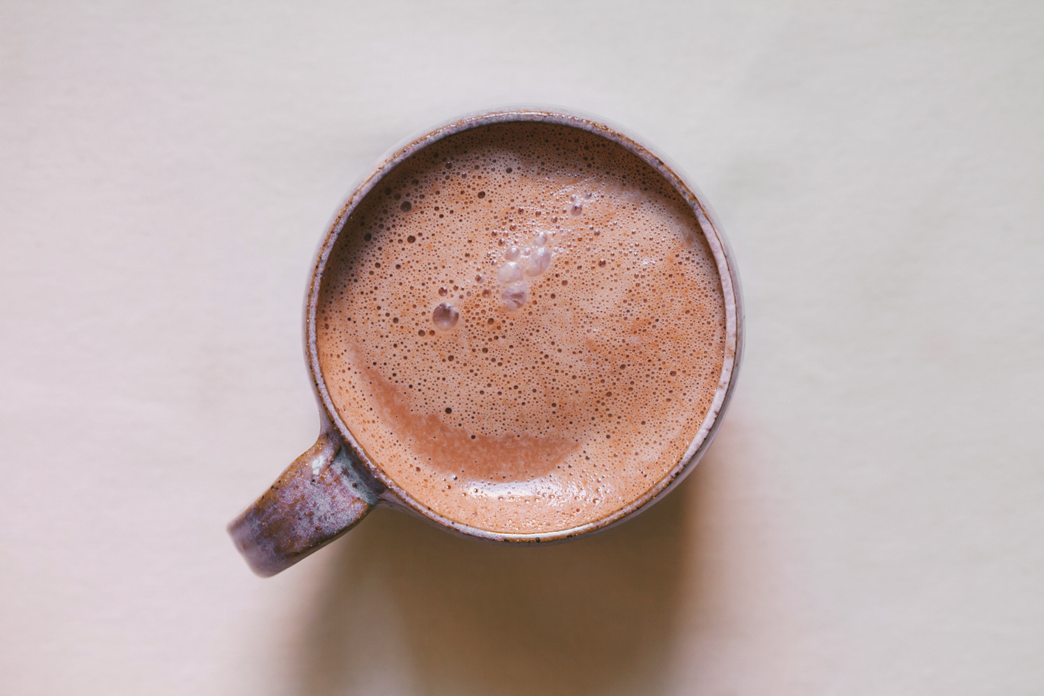 Tahini Hot Chocolate | Golubka Kitchen
