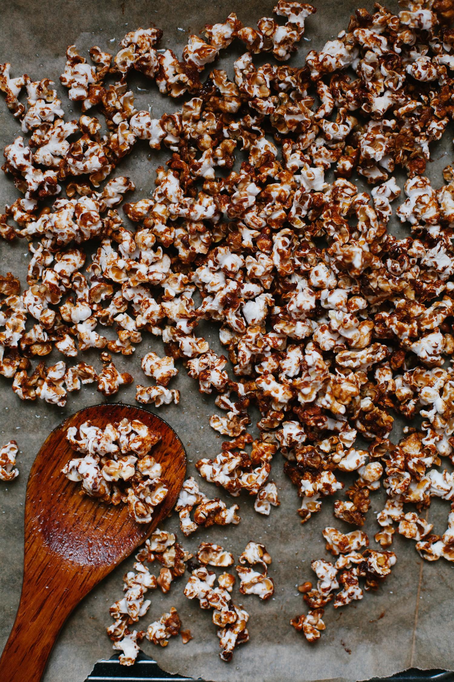Miso Caramel Popcorn | Golubka Kitchen
