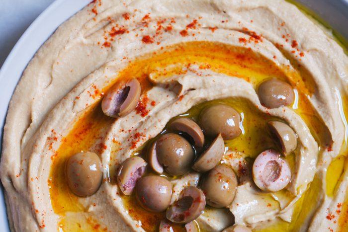 Roasted Garlic and Parsnip Hummus