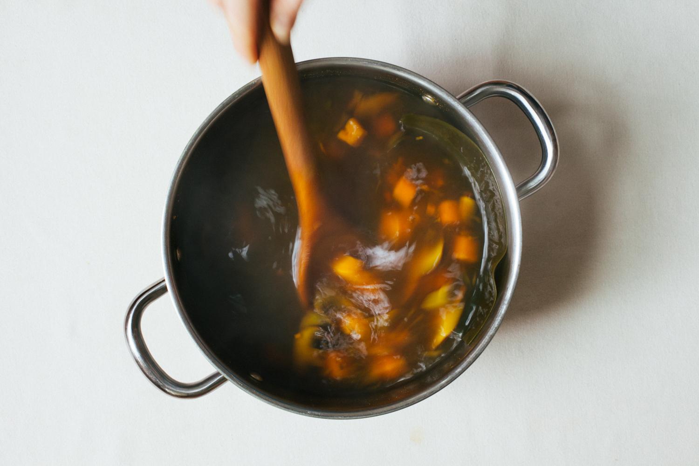No-Recipe Healing Soup - Golubka Kitchen
