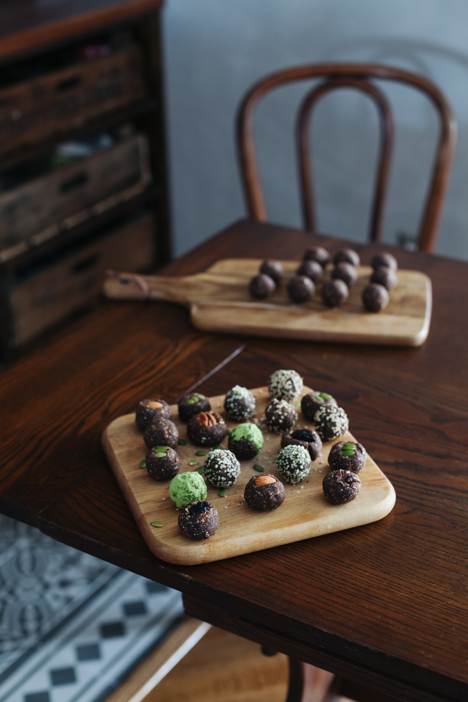 Sweet and Savory Energy Bites, What to Do with Leftover Nut Milk Pulp - Golubka Kitchen