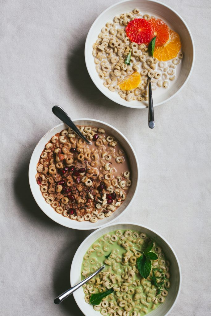 Nut Milk and Quinoa Cereal, 3 Ways