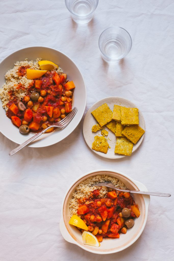 Moroccan Stew and Sunshine Crackers from The First Mess + a Giveaway