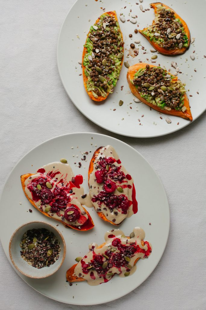 Sweet Potato Toast, Two Ways