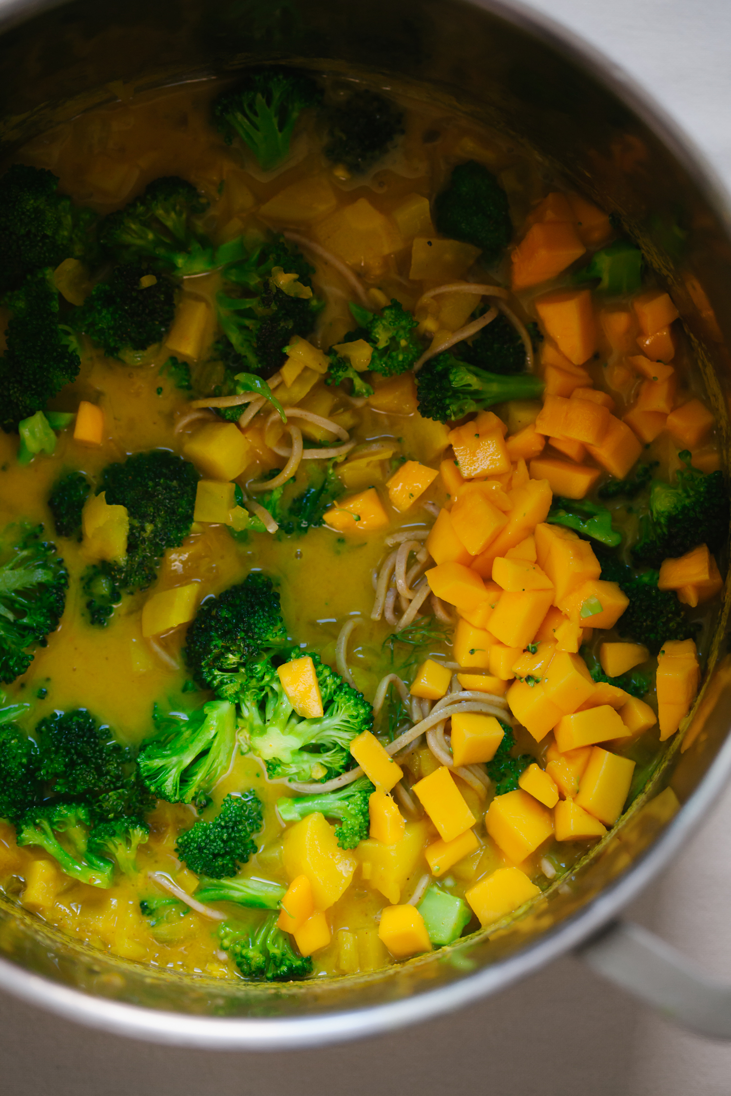 Mango Curry with Fennel and Parsnip - Golubka Kitchen
