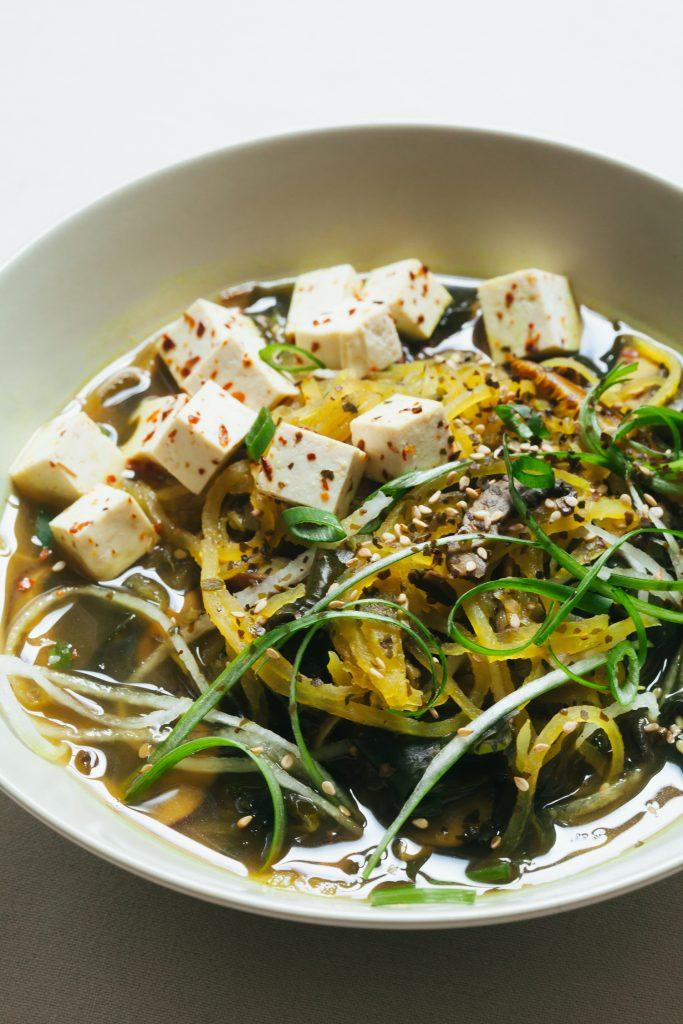 Vegan Daikon Noodle Ramen