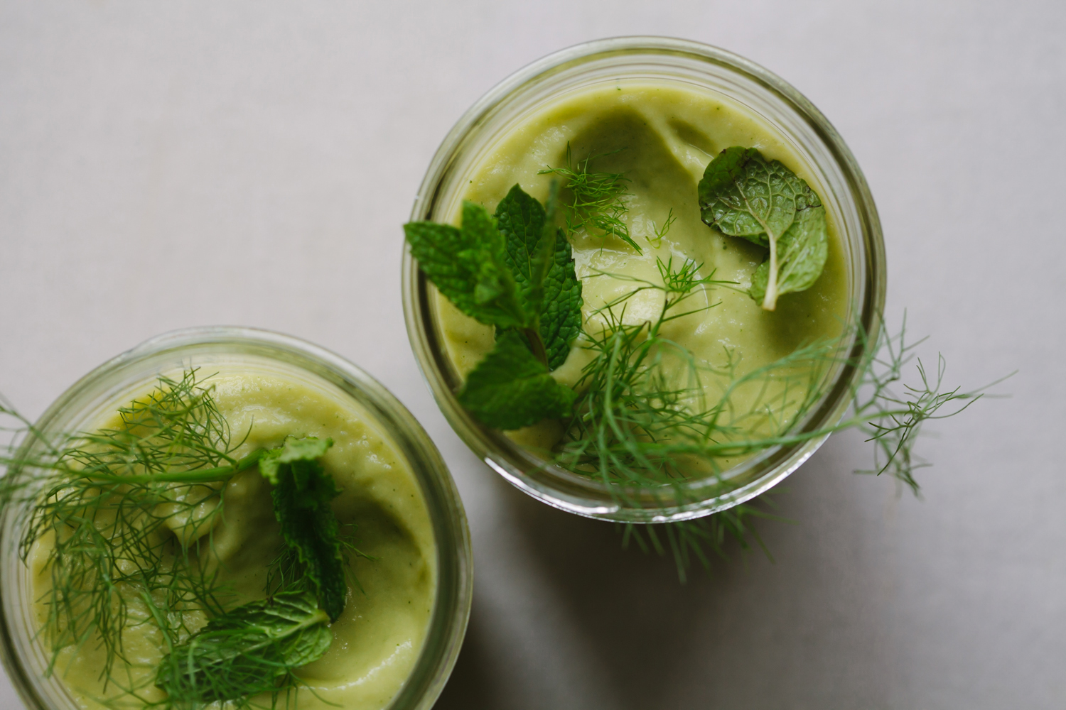 Hydrating Fennel, Mango and Avocado Smoothie - Golubka Kitchen