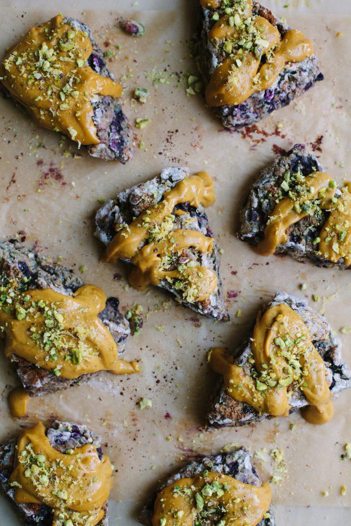 Gluten-Free Blueberry Lemon Scones