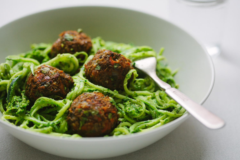 Italian Style Lentil and Mushroom (Not)Meatballs from Pantry to Plate - Golubka Kitchen