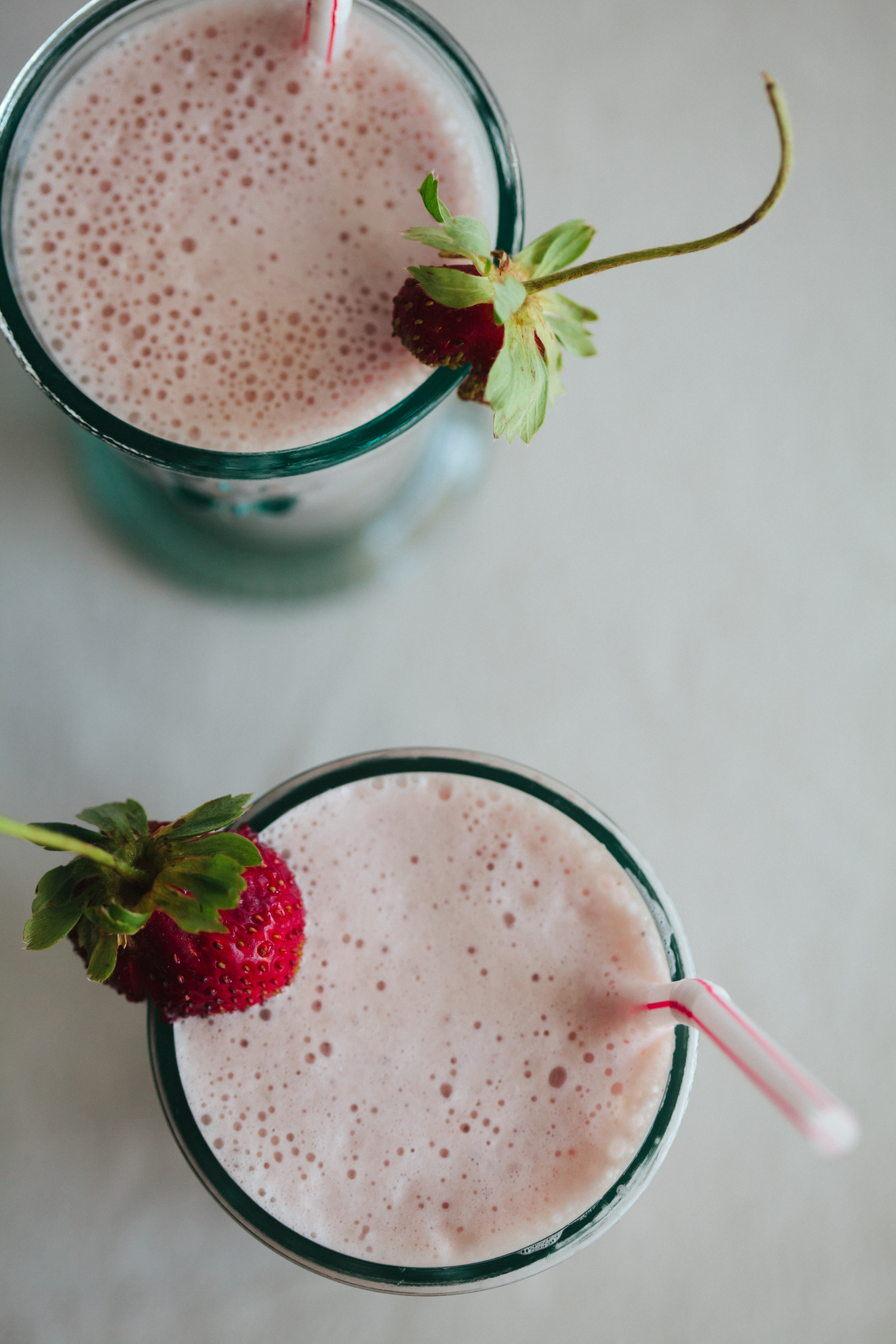 Strawberry Cardamom Milk - Golubka Kitchen